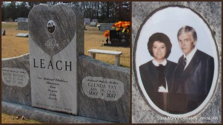WILLHITE LEACH, GLENDA FAY - White County, Arkansas | GLENDA FAY WILLHITE LEACH - Arkansas Gravestone Photos