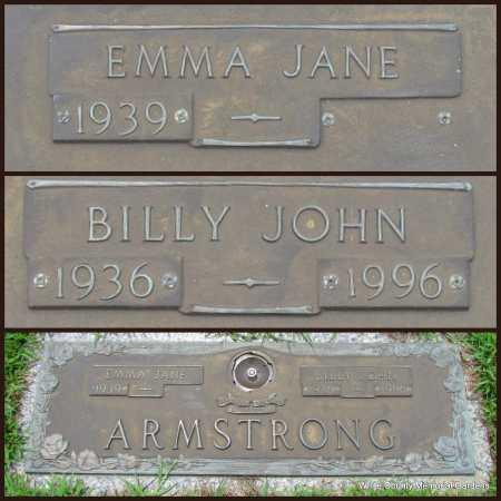 ARMSTRONG, BILLY JOHN - White County, Arkansas | BILLY JOHN ARMSTRONG - Arkansas Gravestone Photos