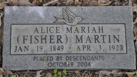 MARTIN, ALICE - White County, Arkansas   ALICE MARTIN - Arkansas Gravestone Photos