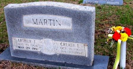 MARTIN, CREASY L. - White County, Arkansas | CREASY L. MARTIN - Arkansas Gravestone Photos