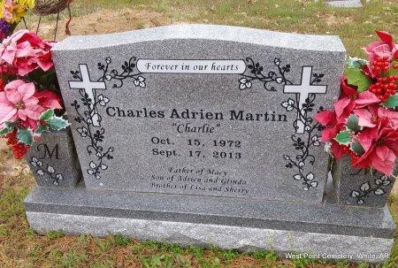 MARTIN, CHARLES ADRIEN - White County, Arkansas | CHARLES ADRIEN MARTIN - Arkansas Gravestone Photos