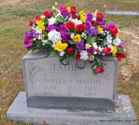 MARTIN, CHARLES V - White County, Arkansas | CHARLES V MARTIN - Arkansas Gravestone Photos