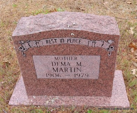MARTIN, DEMA MAE - White County, Arkansas | DEMA MAE MARTIN - Arkansas Gravestone Photos