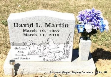 MARTIN, DAVID L - White County, Arkansas | DAVID L MARTIN - Arkansas Gravestone Photos
