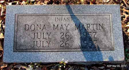 MARTIN, DONA MAY - White County, Arkansas | DONA MAY MARTIN - Arkansas Gravestone Photos