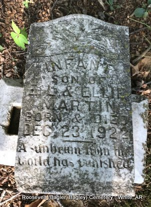 MARTIN, INFANT SON - White County, Arkansas | INFANT SON MARTIN - Arkansas Gravestone Photos