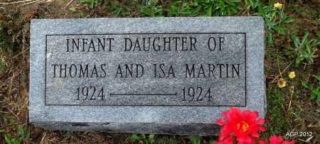 MARTIN, INFANT DAUGHTER - White County, Arkansas | INFANT DAUGHTER MARTIN - Arkansas Gravestone Photos