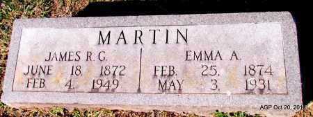 MARTIN, EMMA A - White County, Arkansas | EMMA A MARTIN - Arkansas Gravestone Photos