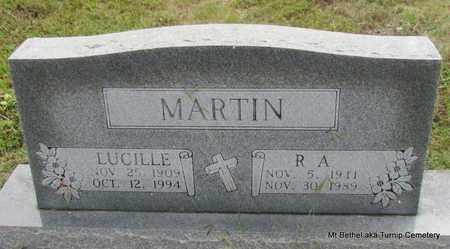 MARTIN, LUCILLE - White County, Arkansas | LUCILLE MARTIN - Arkansas Gravestone Photos