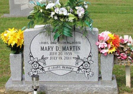 MARTIN, MARY D. - White County, Arkansas | MARY D. MARTIN - Arkansas Gravestone Photos