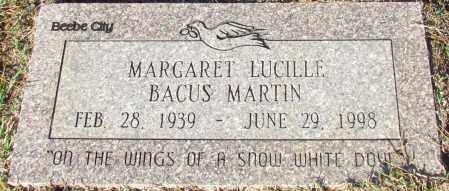 MARTIN, MARGARET LUCILLE - White County, Arkansas | MARGARET LUCILLE MARTIN - Arkansas Gravestone Photos