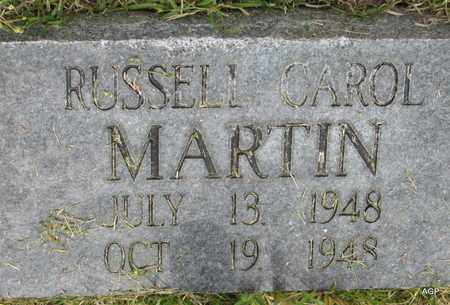 MARTIN, RUSSELL CAROL - White County, Arkansas   RUSSELL CAROL MARTIN - Arkansas Gravestone Photos