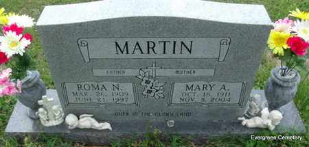 MARTIN, ROMA N - White County, Arkansas | ROMA N MARTIN - Arkansas Gravestone Photos