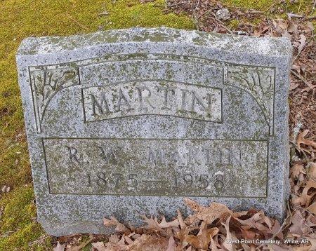 MARTIN, R W RAYMOND WINFIELD - White County, Arkansas | R W RAYMOND WINFIELD MARTIN - Arkansas Gravestone Photos