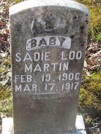 MARTIN, SADIE LOO - White County, Arkansas | SADIE LOO MARTIN - Arkansas Gravestone Photos
