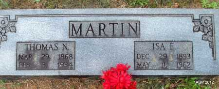 MARTIN, ISA E - White County, Arkansas | ISA E MARTIN - Arkansas Gravestone Photos