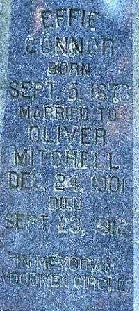 MITCHELL  2, EFFIE - White County, Arkansas | EFFIE MITCHELL  2 - Arkansas Gravestone Photos