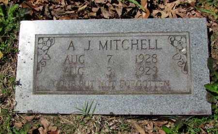 MITCHELL, A J - White County, Arkansas | A J MITCHELL - Arkansas Gravestone Photos