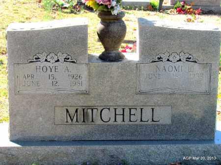 MITCHELL, HOYE A - White County, Arkansas | HOYE A MITCHELL - Arkansas Gravestone Photos
