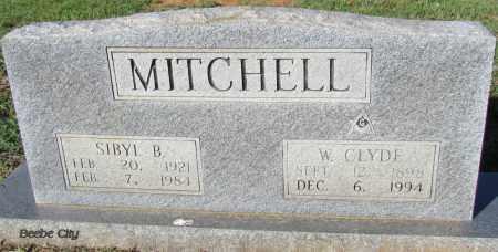 MITCHELL, SIBYL B - White County, Arkansas   SIBYL B MITCHELL - Arkansas Gravestone Photos