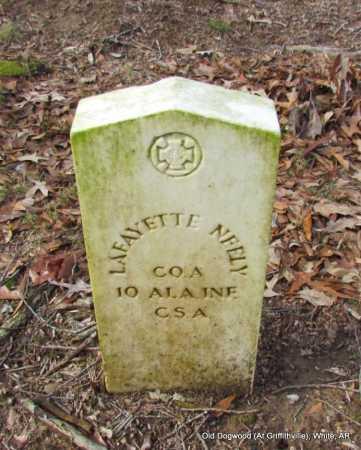 NEELY (VETERAN CSA), LAFAYETTE - White County, Arkansas   LAFAYETTE NEELY (VETERAN CSA) - Arkansas Gravestone Photos