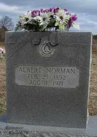 NORMAN, ALBERT - White County, Arkansas | ALBERT NORMAN - Arkansas Gravestone Photos