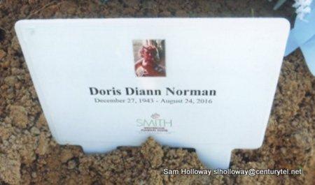 NORMAN, DORIS DIANN - White County, Arkansas   DORIS DIANN NORMAN - Arkansas Gravestone Photos