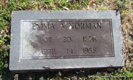 NORMAN, EMMA A - White County, Arkansas | EMMA A NORMAN - Arkansas Gravestone Photos