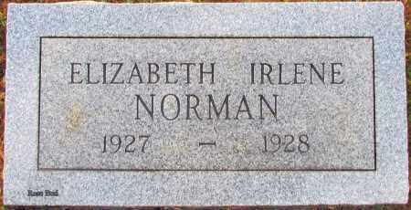 NORMAN, ELIZABETH IRLENE - White County, Arkansas | ELIZABETH IRLENE NORMAN - Arkansas Gravestone Photos