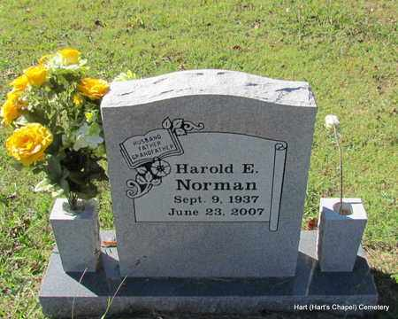 NORMAN, HAROLD E - White County, Arkansas | HAROLD E NORMAN - Arkansas Gravestone Photos