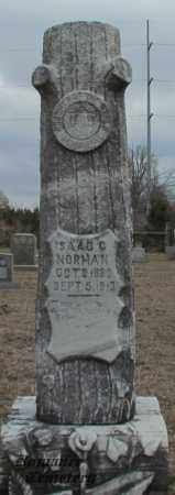 NORMAN, ISAAC C (OVERVIEW) - White County, Arkansas | ISAAC C (OVERVIEW) NORMAN - Arkansas Gravestone Photos