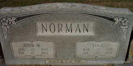 NORMAN, LULA - White County, Arkansas | LULA NORMAN - Arkansas Gravestone Photos