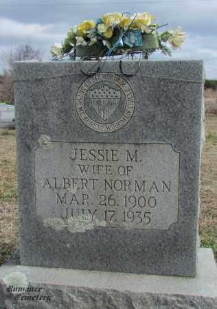 NORMAN, JESSIE M - White County, Arkansas   JESSIE M NORMAN - Arkansas Gravestone Photos