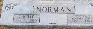 NORMAN, LUCILLE - White County, Arkansas | LUCILLE NORMAN - Arkansas Gravestone Photos