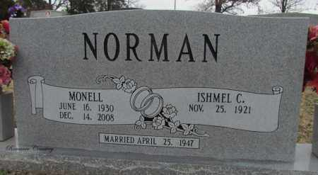 MONCRIEF NORMAN, MONELL - White County, Arkansas   MONELL MONCRIEF NORMAN - Arkansas Gravestone Photos