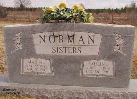 NORMAN, MAXINE - White County, Arkansas   MAXINE NORMAN - Arkansas Gravestone Photos