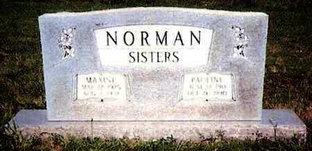 NORMAN, PAULINE - White County, Arkansas | PAULINE NORMAN - Arkansas Gravestone Photos