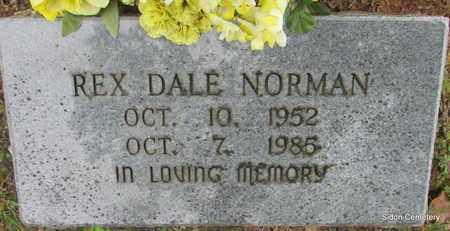 NORMAN, REX DALE - White County, Arkansas | REX DALE NORMAN - Arkansas Gravestone Photos