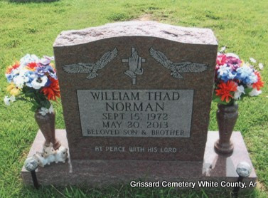 NORMAN, WILLIAM THADDEUS - White County, Arkansas | WILLIAM THADDEUS NORMAN - Arkansas Gravestone Photos