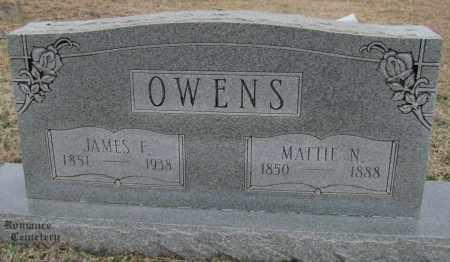 OWENS, MATTIE N - White County, Arkansas | MATTIE N OWENS - Arkansas Gravestone Photos