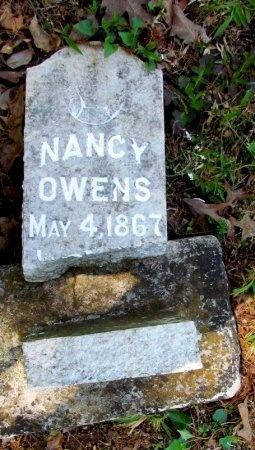 OWENS, NANCY - White County, Arkansas | NANCY OWENS - Arkansas Gravestone Photos