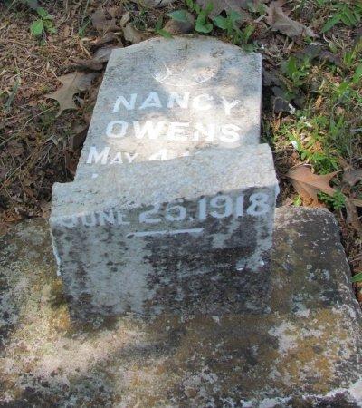 OWENS, NANCY (BOTTOM STONE) - White County, Arkansas | NANCY (BOTTOM STONE) OWENS - Arkansas Gravestone Photos