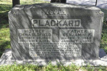 OLDFIELD PLACKARD, EMMA - White County, Arkansas | EMMA OLDFIELD PLACKARD - Arkansas Gravestone Photos