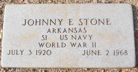 STONE (VETERAN WWII), JOHNNY E - White County, Arkansas | JOHNNY E STONE (VETERAN WWII) - Arkansas Gravestone Photos