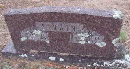STRAIN, WILLIS D - White County, Arkansas | WILLIS D STRAIN - Arkansas Gravestone Photos