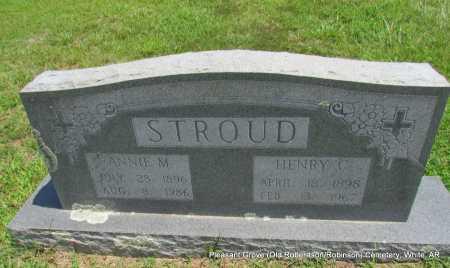 STROUD, HENRY C - White County, Arkansas | HENRY C STROUD - Arkansas Gravestone Photos