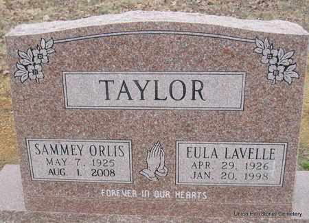 TAYLOR, SAMMEY ORLIS - White County, Arkansas   SAMMEY ORLIS TAYLOR - Arkansas Gravestone Photos