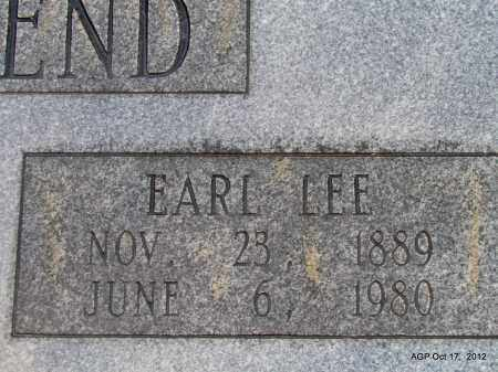 TOWNSEND, EARL LEE (CLOSE UP) - White County, Arkansas | EARL LEE (CLOSE UP) TOWNSEND - Arkansas Gravestone Photos