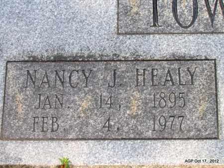 TOWNSEND, NANCY J (CLOSE UP) - White County, Arkansas | NANCY J (CLOSE UP) TOWNSEND - Arkansas Gravestone Photos
