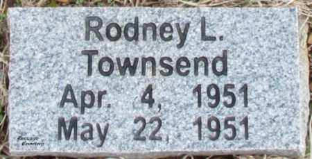 TOWNSEND, RODNEY L - White County, Arkansas | RODNEY L TOWNSEND - Arkansas Gravestone Photos